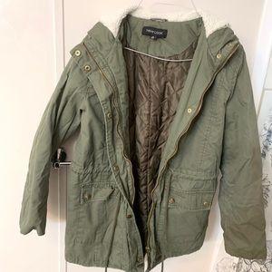 Army Green Heavy Winter Coat.